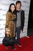 Shiva Rose McDermott and Dylan McDermott — Stock Photo
