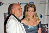 Ken Rickles and Nancy Davis — Stock Photo