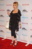 Alessandra toreson en la revista maxim y habitaciones sin miedo x fiesta de juegos. privilegio, west hollywood, ca. 03/08/06 — Foto de Stock