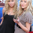 Alyson Michalka, Amanda Michalka — Stock Photo