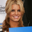 "Jessica Simpson and Blockbuster Announce ""Total Access"" — Стоковая фотография"