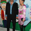 Trey Parker and wife Emma — Stock Photo
