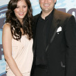 Постер, плакат: Katharine McPhee and Taylor Hicks in the press room at the American Idol Season 5 finale Kodak Theatre Hollywood CA 05 24 06