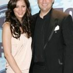 ������, ������: Katharine McPhee and Taylor Hicks in the press room at the American Idol Season 5 finale Kodak Theatre Hollywood CA 05 24 06