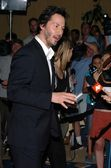 Keanu Reeves at the Los Angeles Premiere Screening of A Scanner Darkly for the Los Angeles Film Festival. John Anson Ford Amphitheatre, Los Angeles, CA. 06-29-06 — Stock Photo