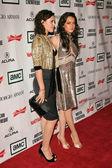 Rumer Willis and Lindsay Lohan — Stock Photo