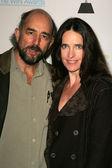 Richard Schiff and Sheila Kelley — Stock Photo