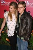 Katie Cassidy and Jesse McCartney at the US Weekly Hot Hollywood Awards. Republic Restaurant and Lounge, West Hollywood, CA. 04-26-06 — Stock Photo