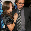Susan Levin and Robert Downey Jr — Stockfoto
