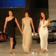 AlexandrHedison with Katherine Moennig and Erin Daniels on runway at General Motors Annual Ten Event. Vine Blvd, Hollywood, CA. 02-28-06 — Stock Photo #16526123