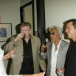 Adrianne Curry and Dr. Bob Nixon, DDS with Johnny Lou Fratto and Christopher Knight at Grand Opening of Dr. TATTOFF, Beverly Hills, C10-15-05 — Stock Photo #16528401