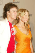 Paul McCartney and Heather Mills McCartney — Stock Photo