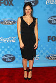 Katharine McPhee at the celebration for the Top 12 American Idol Finalists. Astra West, West Hollywood, CA. 03-09-06 — Stock Photo