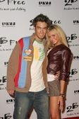 Adam G Taki and Anastasia Ashley arriving at 2 Be Frees Spring 2006 Collection. Paramount Studios, Hollywood, CA. 10-15-05 — Stock Photo