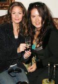 Christina campbell und fileena bahris — Stockfoto