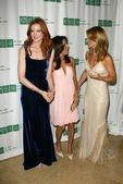 Marcia Cross with Eva Longoria and Lori Loughlin — Stock Photo