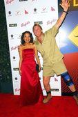 Steve Irwin and friend — Stock Photo