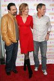 Ricardo Chavira with Brenda Strong and Mark Moses — Stock Photo