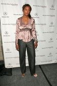 Aisha Tyler attending the first day of Mercedes-Benz Fashion Week. Smashbox, Culver City, CA. 10-16-05 — Stockfoto