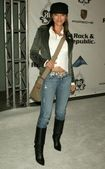 Kelly Hu at the Rock and Republic Spring 2006 Show. Sony Studios, Culver City, CA. 10-19-05 — Stock Photo