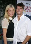 Rebecca Romijn-Stamos and Jerry O'Connell — Stock Photo
