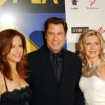 ������, ������: Kelly Preston with John Travolta and Olivia Newton John at the GDay LA Australia Week 2006 Penfold Icons Black Tie Gala Hollywood Palladium Hollywood CA 01 14 06