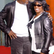 Samuel L Jackson and LaTanya Richardson — Stock Photo