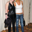 Kelly Osbourne and TarReid arriving at 2 B Free Fall 2006 fashion show. Regent Beverly Wilshire, Los Angeles, CA. 03-17-06 — Stock Photo #16549061