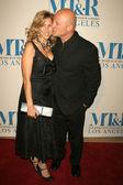 Michelle Moran and Michael Chiklis — Stock Photo