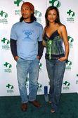 Jason Scott Lee and Kelly Hu — Stock Photo