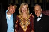Ari Taub, Stanley Taub, Anna Wilding — Stock Photo