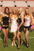Ryan Starr and Cindy Margolis with Jenny McCarthy and Tamie Sheffield — Stock Photo