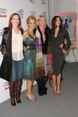 Marcia Cross, Felicity Huffman, Nicolette Sheridan and Teri Hatcher — Stock Photo
