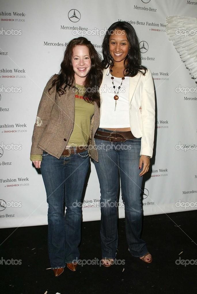 Amy Davidson and tamera mowry