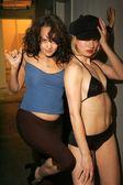Indrani and Rena — Stock Photo