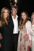 Alicia Jacobs, David Foster, Erin Foster — Stock Photo