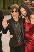 Mick Jagger and friend — Stock Photo
