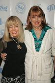 テリー ・ ムーアとギータ ホール — ストック写真
