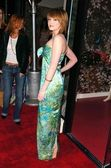 Kaylee Defer at the opening of the Leona Edmiston Frock Gallery. Leona Edmiston The Frock Gallery, West Hollywood, CA. 03-14-06 — Stock Photo