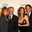 Kate Capshaw and Steven Spielberg with Tom Hanks and Rita Wilson - Stock Photo