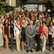 Miss America Pageant 2006 Photo Op — Stock Photo