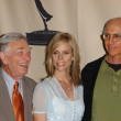 Shelley Berman, Cheryl Hines and Larry David — Stock Photo