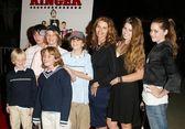 Maria Shriver and family — Stock Photo
