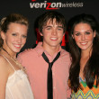 Stock Photo: Katie Cassidy with Jesse McCartney and Taylor Cole at Teen 4th Annual Artists of Year Party, Element, Hollywood, C11-22-05