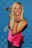 Gwiazdy fox świętować najlepsze 12 finalistów american idol — Zdjęcie stockowe
