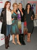 Marcia cross, felicity huffman, nicolette sheridan y teri hatcher — Foto de Stock