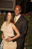 Tamara Curry and J. August Richards — Stock Photo