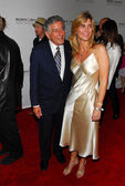 Tony Bennett and friend — Stock Photo