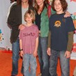 Kenny G and Family at Nickelodeons 19th Annual Kids Choice Awards. Pauley Pavilion, Westwood, CA. 04-01-06 — Stock Photo #16580007