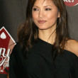 Kelly Hu at the Hollywoodpoker.com Anniversary party to benefit American Red Cross Gulf Relief and International Hospital for Children. Montmartre Lounge, Hollywood, CA. 11-09-05 — Stock Photo